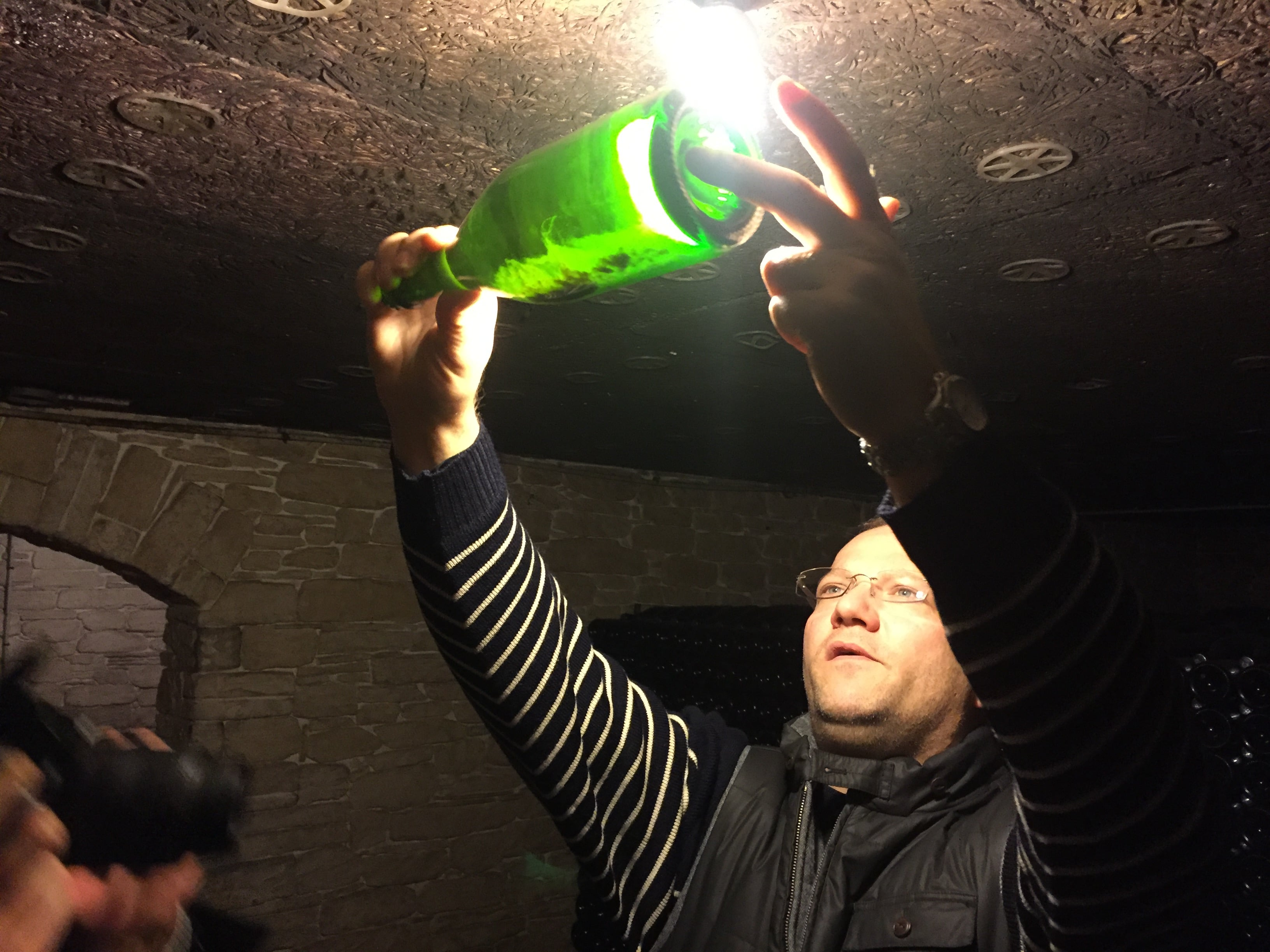 Pierre Eric Jolly fles rijping Champagne - jeromeschampagne.nl