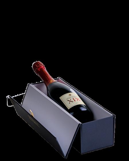Luxe verpakking met Cuvée XIX Marie Demets Champagne - jeromeschampagne.nl