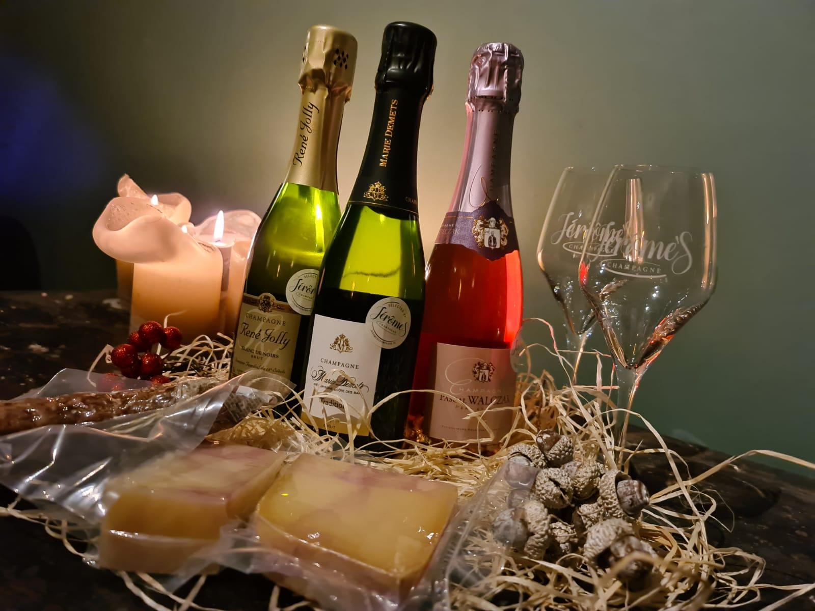Online Champagne Proeverij - jeromeschampage.nl